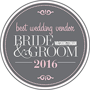 Best Wedding Vendor Washingtonian Bride & Groom 2016
