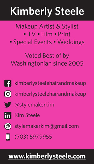Image of Kimberly Steele's business card